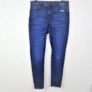 Michael Kors Skinny Jeans Slim Leg High Waist